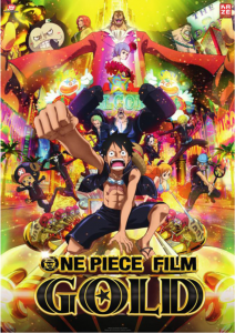 One-Piece-Gold-Filmplakat
