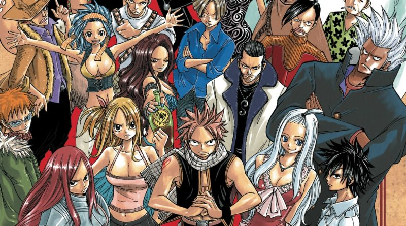 fairy tail manga cover